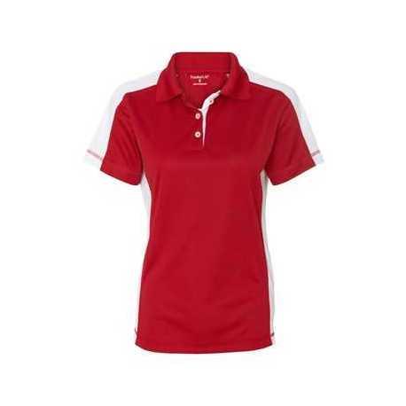 FeatherLite 5465 Women's Colorblocked Moisture Free Mesh Sport Shirt