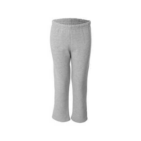 Gildan 18400B Heavy Blend Youth Open-Bottom Sweatpants