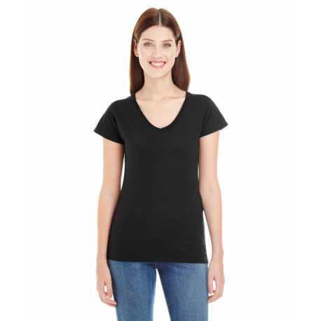 Anvil 380VL Lightweight Ladies' Fitted V-Neck Tee