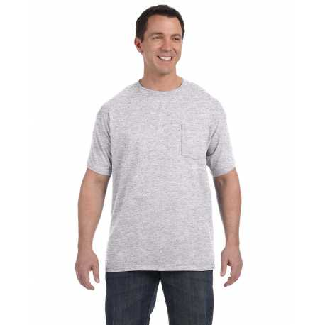 Hanes H5590 Men's 6.1 oz. Tagless Pocket T-Shirt