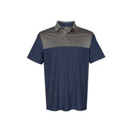 IZOD 13GG004 Colorblocked Space-Dyed Sport Shirt