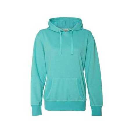 J. America 8860J Women's Glitter French Terry Hooded Sweatshirt