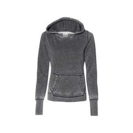 J. America 8912 Women's Zen Fleece Hooded Sweatshirt
