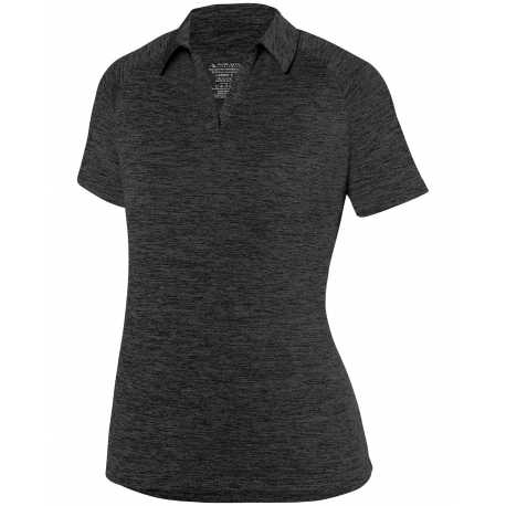 Augusta Sportswear 5409 Ladies' Intensify Black Heather Sport T-Shirt
