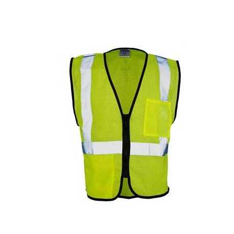 ML Kishigo 1537-1538 Class 2 Double-Pocket Zippered Economy Vest
