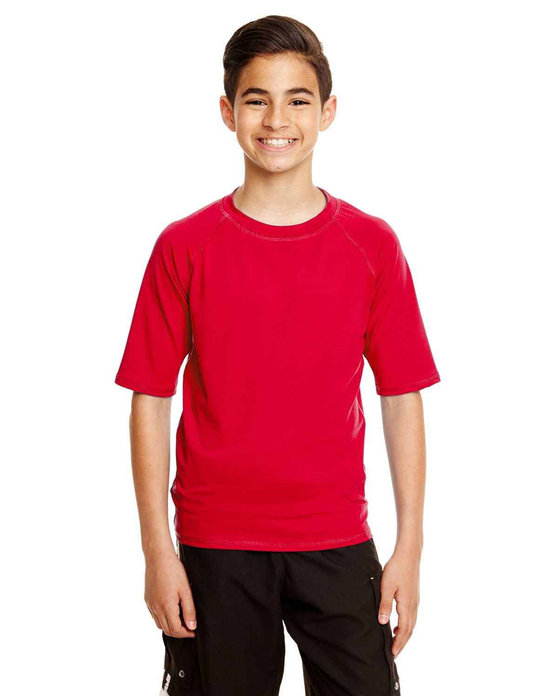 Burnside b4150 youth rash guard t shirt Rash guard shirts kids