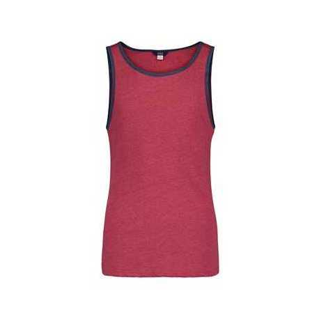 MV Sport 16407 Heather Ringer Tank