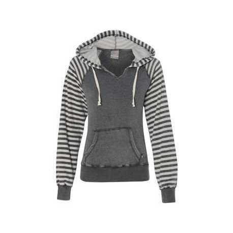 MV Sport W15106 Women's Angel Fleece Sanded Piper Hooded Sweatshirt