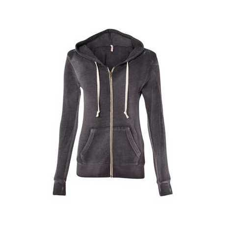 MV Sport W2350 Women's Angel Fleece Full-Zip Hooded Sweatshirt
