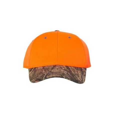 Outdoor Cap 202IS Blaze Crown Cap with Camo Visor
