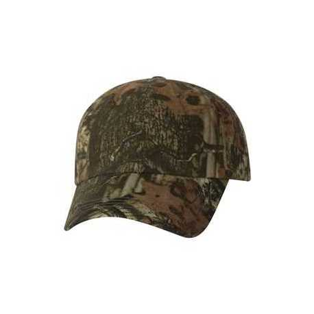 Outdoor Cap CGW115 Garment-Washed Camo Cap