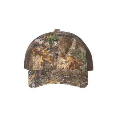 Outdoor Cap HPC305 Camo Cap with Weathered Front