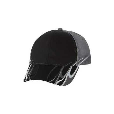 Outdoor Cap WAV605M Flame Mesh-Back Cap