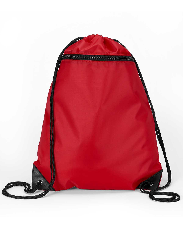 Liberty Bags 8888 Zipper Drawstring Backpack
