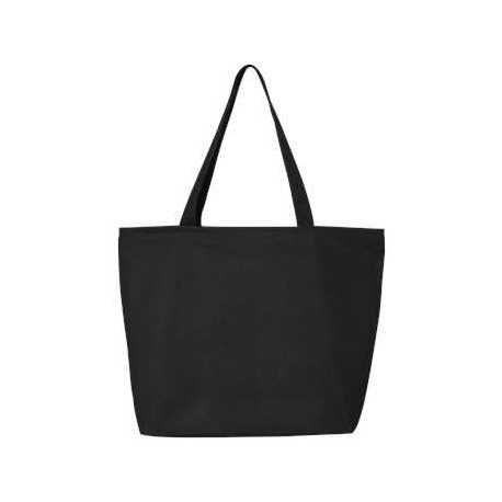 Q-Tees Q611 25L Zippered Tote