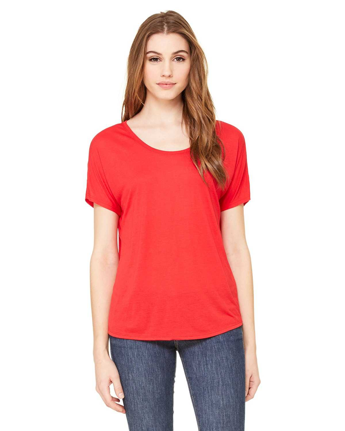 Bella Canvas 8816 Ladies Slouchy T Shirt