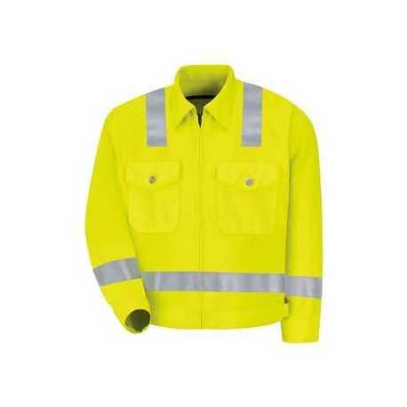 Red Kap JY32 Hi-Visibility Ike Jacket