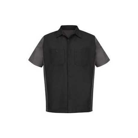 Red Kap SY20 Short Sleeve Automotive Crew Shirt
