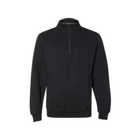 Russell Athletic 1Z4HBM Dri Power Quarter-Zip Cadet Collar Sweatshirt