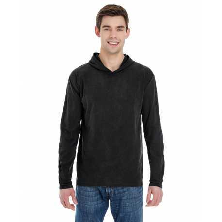 Comfort Colors 4900 Adult 6.1 oz. Long-Sleeve Hooded T-Shirt