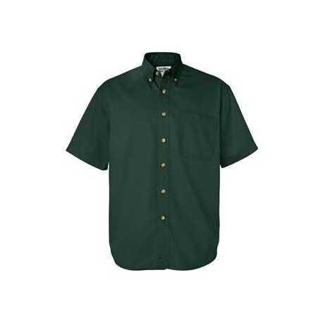 Sierra Pacific 0201 Short Sleeve Cotton Twill Shirt