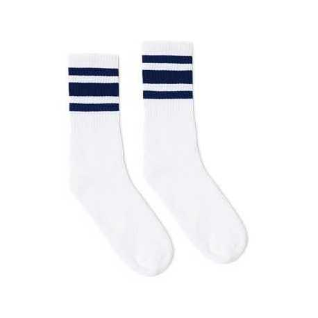 SOCCO SC100 Striped Crew Socks