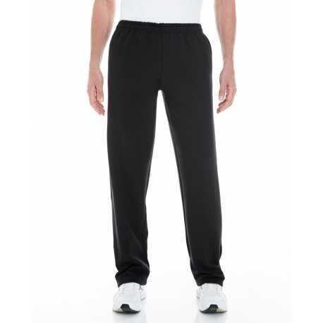 Gildan G183 Adult Heavy Blend 8 oz. Open-Bottom Sweatpants with Pockets