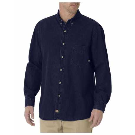 Dickies WL300 8 OZ DENIM LONG SLEEVE SHIRT