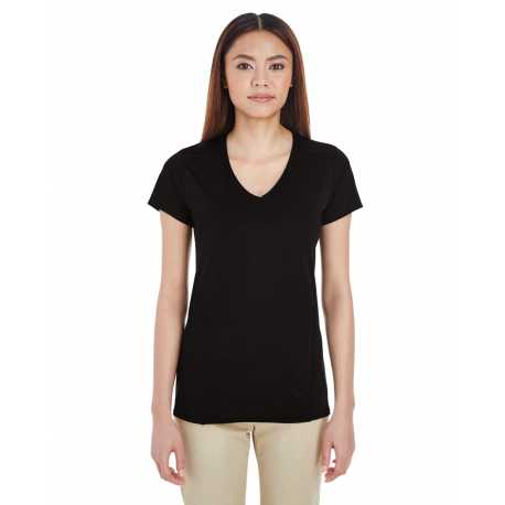 Gildan G47V Ladies' Performance 4.7 oz. V-Neck Tech T-Shirt