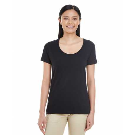 Gildan G6455L Ladies' Softstyle 4.5 oz. Deep Scoop T-Shirt