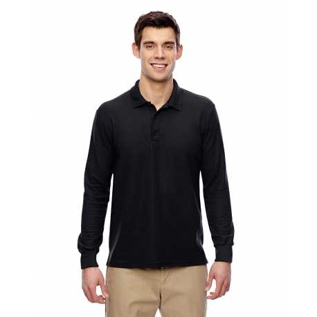 Gildan G729 Adult DryBlend 6.3 oz. Double Pique Long Sleeve Polo