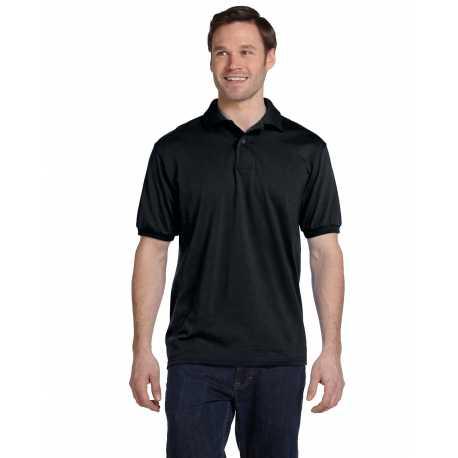 Hanes 054 Men's 5.2 oz., 50/50 EcoSmart Jersey Knit Polo