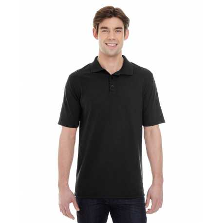 Hanes 055P Men's X-Temp Pique Short-Sleeve Polo with Fresh IQ