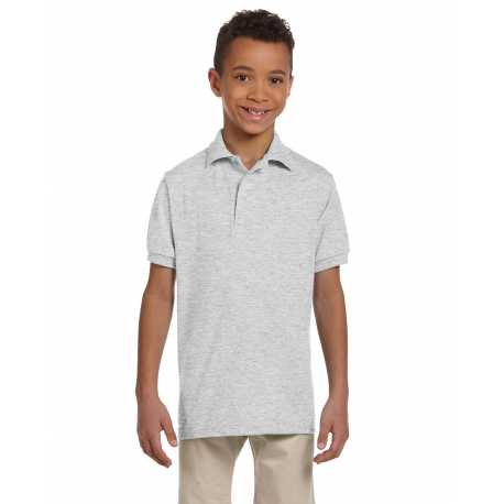 Jerzees 437Y Youth 5.6 oz., SpotShield Jersey Polo