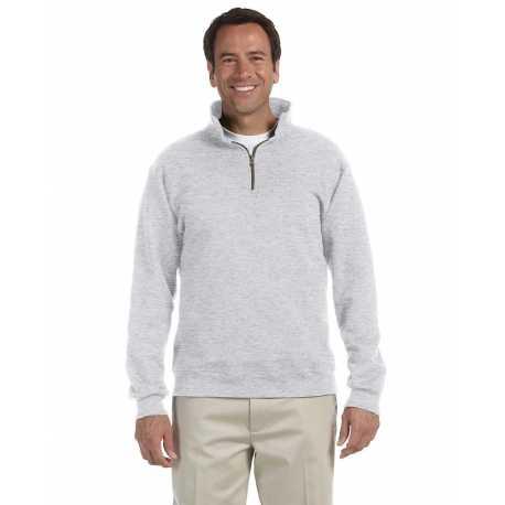 Jerzees 4528 Adult 9.5 oz., Super Sweats NuBlend Fleece Quarter-Zip Pullover