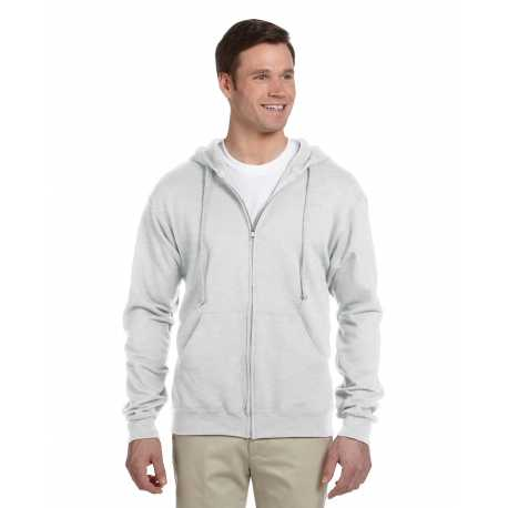 Jerzees 993 Adult 8 oz. NuBlend Fleece Full-Zip Hood