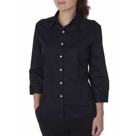 Van Heusen 13V0527 Ladies' 3/4-Sleeve Dress Twill