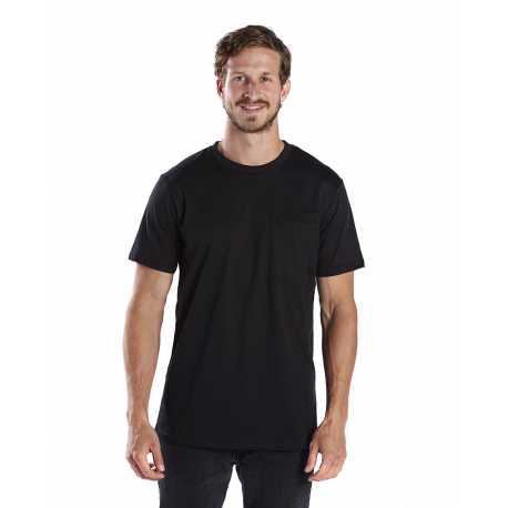 US Blanks US2017 Men's 4.3 oz. Pocket Tee Crew