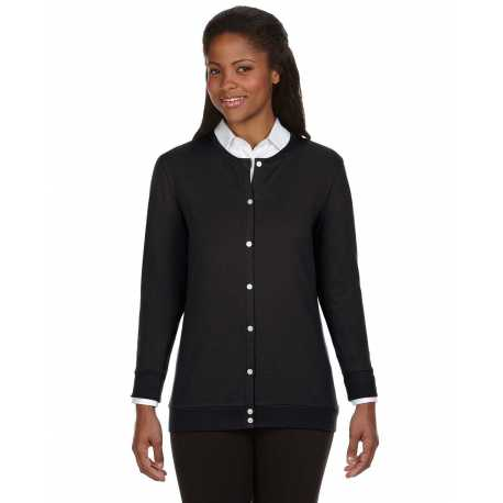 Devon & Jones DP181W Ladies' Perfect Fit Ribbon Cardigan