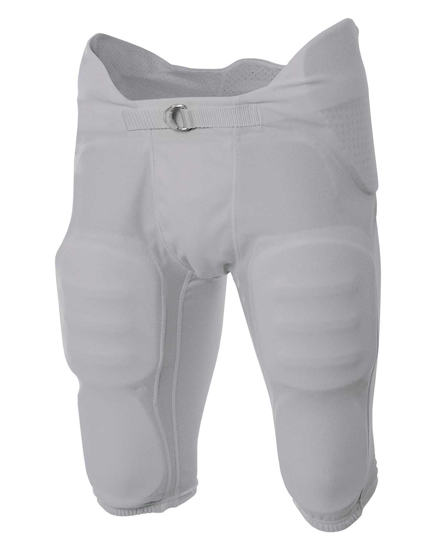 A4 Boys Flyless Integrated Football Pant Scarlet