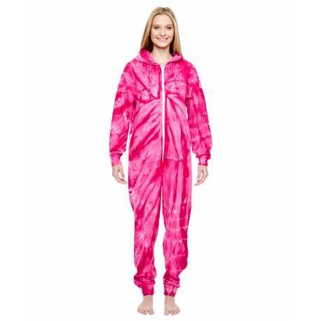 Tie-Dye CD892 Adult All-In-One Loungewear