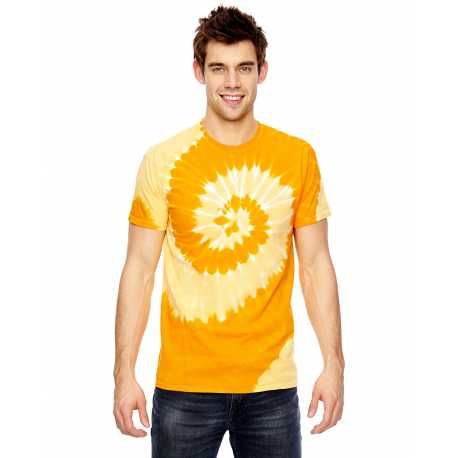 Tie-Dye 365SL for Team 365 Adult Team Tonal Spiral Tie-Dyed T-Shirt