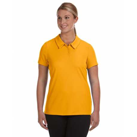 All Sport W1709 Ladies' Performance Three-Button Mesh Polo