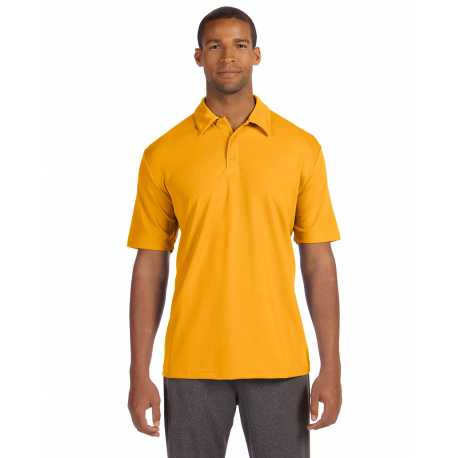 All Sport M1709 Unisex Performance Three-Button Mesh Polo