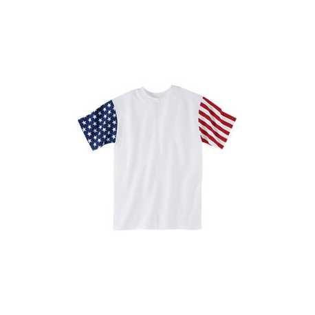 Code Five 3976 Adult Stars & Stripes T-Shirt