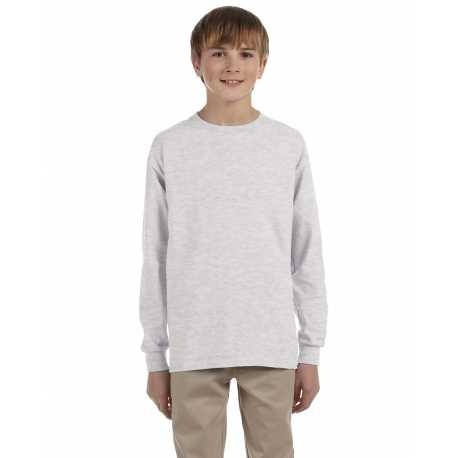 Jerzees 29BL Youth 5.6 oz., DRI-POWER ACTIVE Long-Sleeve T-Shirt