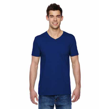 Fruit Of The Loom SFVR Adult 4.7 oz. Sofspun Jersey V-Neck T-Shirt