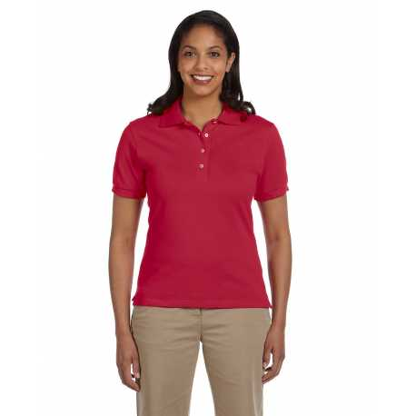 Jerzees 440W Ladies' 6.5 oz. Ringspun Cotton Pique Polo