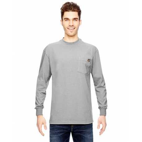 Dickies WL450T Men's Tall 6.75 oz. Heavyweight Work Long-Sleeve T-Shirt