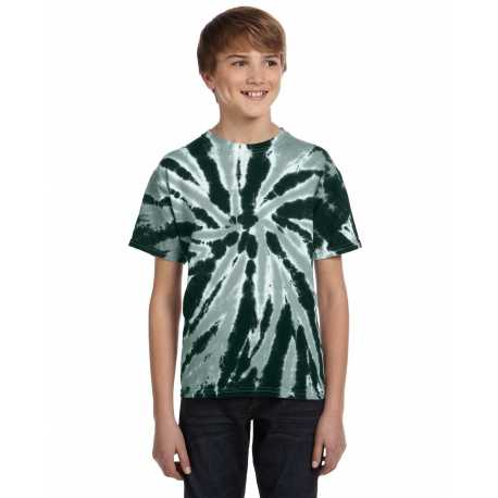 Tie-Dye CD110Y Youth 5.4 oz., 100% Cotton Twist Tie-Dyed T-Shirt